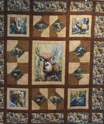This quilt pattern features a center fabric panel, but also lends ... & This quilt pattern features a center fabric panel, but also lends itself  well to any Adamdwight.com