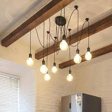 chandeliers 10 light chandelier lights retro spider industrial pendant 1 vintage hanging lamp fixtures in from