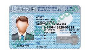 Ontario Save License Template Psd Drivers