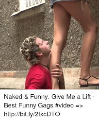 Cro Naked Funny Give Me A Lift Best Funny Gags Video