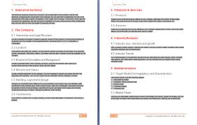 business plan template sample business plan templates download business form templates