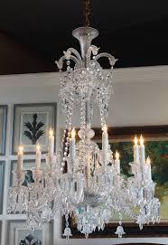philippe starck for baccarat zenith long twelve light chandelier at 1stdibs