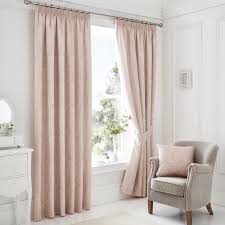 Next Living Room Curtains Serene Laurent Pair Of Curtains In Rose Next Day Delivery Serene