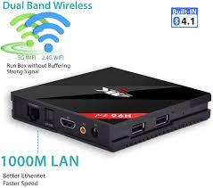 H96 Pro Plus Android 7.1 TV Box Amlogic S912 Octa-Core Cortex-A53 64 bits  CPU,2GB+16GB Dual WiFi 2.4/5.0 GHz Bluetooth 4.1 H.265 4K Ultra HD 3D Smart TV  Box : Amazon.es: Electrónica