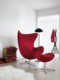 danish design furniture of arne jacobsen egg chair red arne jacobsen furniture