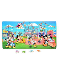 wooden jigsaw puzzle board mickey mouse duck club with drawers plans portable jigsaw puzzle board