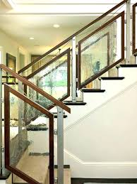 wood and glass staircase railing designs glass stair railing glass stair railing tempered staircase contemporary with wood and glass staircase railing