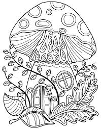 Forest Coloring Page Vudfiullinfo