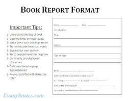 how do you a book report 8th grade template form