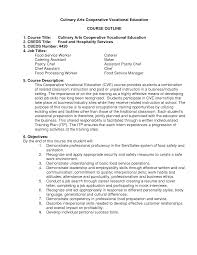 Food Service Resume Sample Resume Examples Food Service Examples