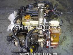 USED ENGINE NISSAN TD27 2.7 DIESEL TURBO TERRANO | Shine Motors