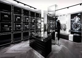 Cabinet Shop Names Plajer Franz Project Karl Lagerfeld Store In Paris
