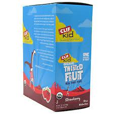 clif kid s zfruit strawberry 18pk box