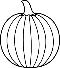 pumpkin clipart black and white. Fine White Pumpkin Outline Printable  Clipart Panda  Free Images  Clip Art  Library And Black White I