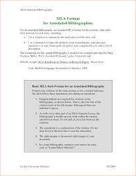 annotated bibliography example with mla formatting