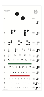 Braille Numbers Chart 1 100 How Ironic A Braille Eye Chart You Can Find This Original
