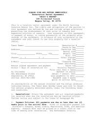 for lease sign template rental property lease agreement template free property lease