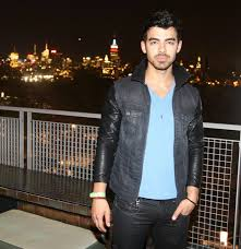 joe jonas at the three year anniversary party for the chandelier room at the w