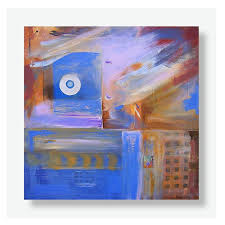 abstract painting andré pillay water ceremony 2