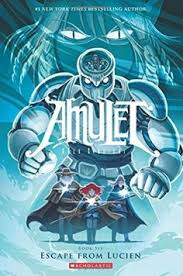 amulet 6 escape from lucien by kazu kibuishi new 0545433150