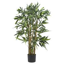 Decorative Indoor Trees 3 Biggy Bamboo Silk Tree Silk Plants Depot