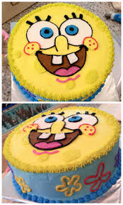 Sponge Bob Cake Spongebobcake Nikijoycakes Buttercream Joy