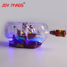 Bottle Light Ideas Us 14 73 46 Off Joy Mags Led Light Kit Only Light Set For Ideas Series The Ship In A Bottle Light Set Compatible With 21313 In Blocks From Toys