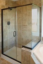 seamless shower doors. Infinity Door \u0026 Panel With No Strike Jamb And Return Panel, Clear Glass, Oil Seamless Shower Doors