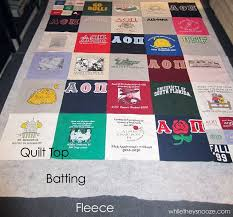 Best 25+ T shirt blanket ideas on Pinterest | T shirt tutorial, T ... & t-shirt quilt - GREAT TUTORIAL - best I have found so far! My Adamdwight.com