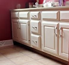 Bathroom Vanities : Amazing How To Paint Cabinets Without Removing ...