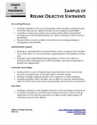 Unique Hospitality Resume Objective Baskanai Job Objective On Resume