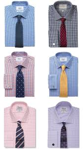 Pattern Shirt With Pattern Tie Unique Design