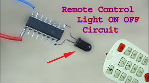 How To Make A Simple Light How To Make A Remote Control Light Circuit Simple Remote Switch