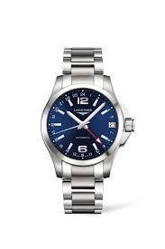 longines conquest men s automatic blue dial stainless steel longines conquest men s automatic blue dial stainless steel bracelet watch