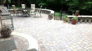 simple patio designs with pavers. Creative Of Simple Patio Ideas With Pavers Diy Concrete End Mass Designs S