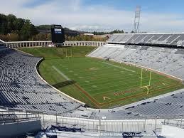 Scott Stadium View From Upper Level 524 Vivid Seats