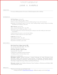Luxury Child Care Resume Formal Letter