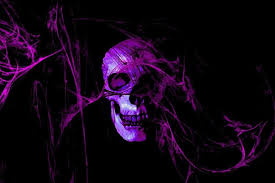 blue fire skull wallpapers top free