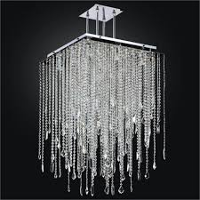 long square crystal chandelier cityscape 598m glow lighting with chandelier crystal