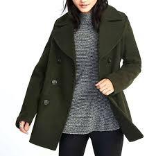 navy pea coat old navy classic wool blend for women us navy pea coat surplus uk