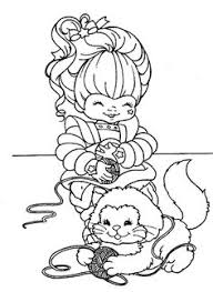 Small Picture rainbow berit coloring Rainbow Brite Coloring Pages Free