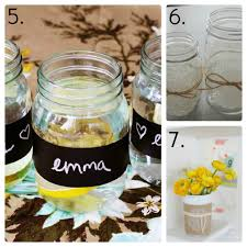 How To Decorate Canning Jars 100 Mason Jar Ideas Mason Jar Decor Mason Jar Candles 8