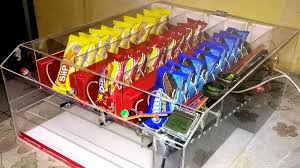 Diy Vending Machine Mesmerizing Make A DIY Arduino Vending Machine To Stop Yourself From Snacking
