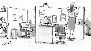 Cartoon Office Cartoons For The Working Stiff The New Yorker