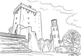Disegno Di Castello Di Blarney Da Colorare Disegni Da Colorare E