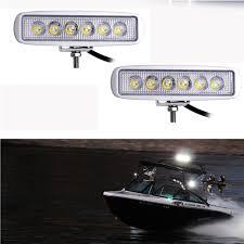 Boat Flood Lights Details About White Spreader Led Deck Marine Lights Set Of 2 For Boat Flood Light 12v