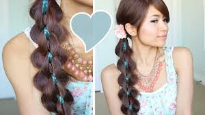You Tube Hair Style Intricate 5strand Braid Hair Tutorial Hairstyle Bebexo Youtube 2113 by wearticles.com