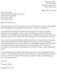 Sample Nursing Cover Letter New Grad Nursing Cover Letter Format ...