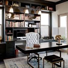 Home office study Formal Inspiration For Large Timeless Freestanding Desk Dark Wood Floor Study Room Remodel In San Francisco Aliexpresscom 75 Most Popular Traditional Home Office Design Ideas For 2019
