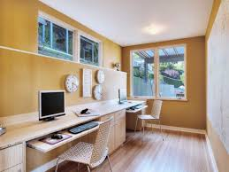 decorated office. Charming Ideas Basement Office Space Home Small Design Decoration Beautiful Decorated I